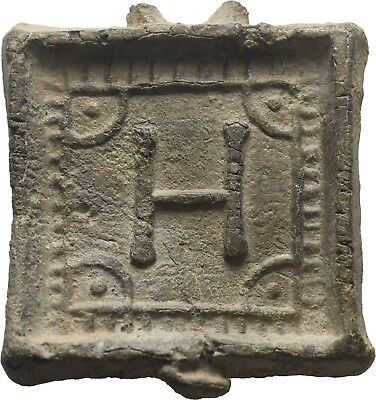 Lanz Greek Hellenistic Coin Trade Commercial Weight 8 Drachmai  Lead ±Bec2431