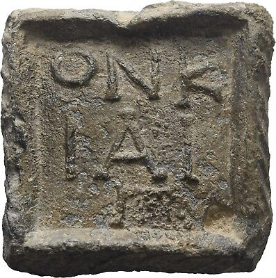 Lanz Greek Hellenistic Coin Trade Commercial Weight 3 Onkiai Ounce Lead ±Bec2450