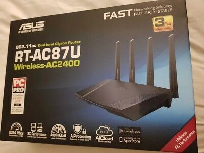 ASUS RT-AC87U 1734 Mbps Gigabit Wireless AC Router