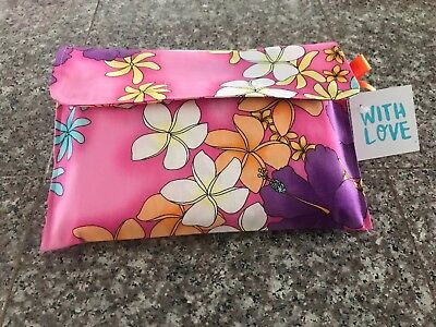 Custom Boutique Baby Travel Diaper Wipes Wipe Case Aloha Floral  Hawaiian Print