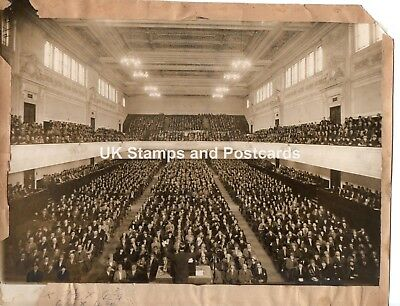 Inside Caird Hall Dundee Large Old Photo As Scanned Occasion/Date Unknown '40s?
