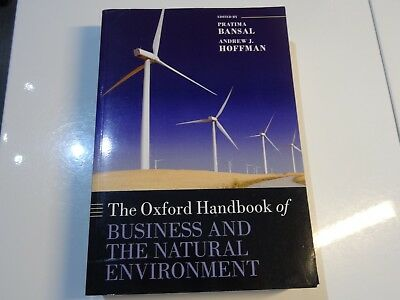 The Oxford Handbook of Business and the Natural Environment by Andrew J. Hoffman