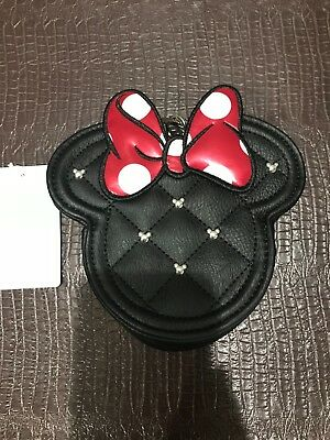 Disney Minnie Mouse With Bow and Ears Coin Purse / Wallet by Loungefly