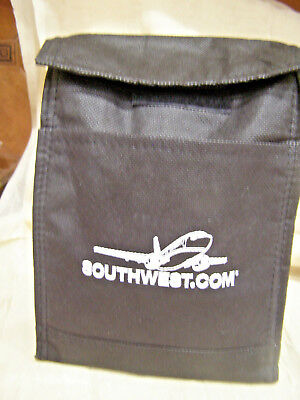 Southwest Airlines Black Lunch Bag With Logo