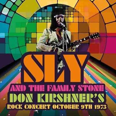 Sly & the Family Stone - Don Kirshner's Rock Concert October 9th 1973 (CD)  NEW