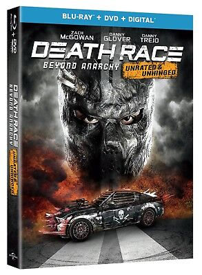 Death Race: Beyond Anarchy (Unrated & Unhinged) (2018) [Blu-ray/DVD/Digital] New