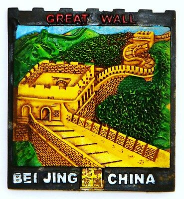 Fridge Magnet 3D Resin Souvenir The Great Wall Of China Brand New