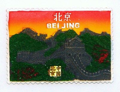 Fridge Magnet Resin 3D Souvenir The Great Wall Of China Brand New