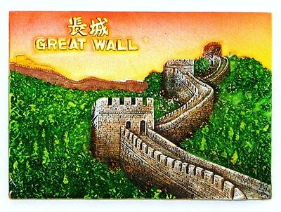 Fridge Magnet Resin Large Impressive 3D Souvenir The Great Wall Of China New