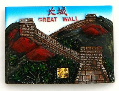 Fridge Magnet Resin 3D Souvenir The Great Wall Of China New