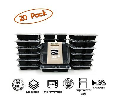 by Hefty Member/'s Mark 3-Compartment Foam Hinged Lid Container 125 ct.
