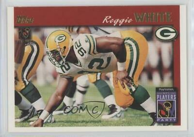 1997 NFL Players Party (Stay Cool in School) Reggie White (Topps) Football Card