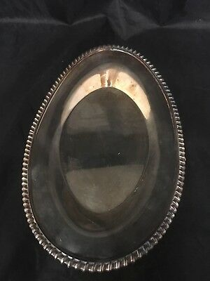 Vintage Wilcox Ashley Silverplate Under-plate I S International Silver EPNS