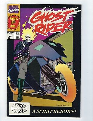 Ghost Rider # 1 VF/NM or Better Marvel 1990 2nd Series 1st Appearance Dan Ketch