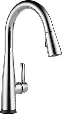 Delta Faucet Essa Single-Handle Touch Kitchen Sink Faucet with Pull Down Spra.  sc 1 st  PicClick & DELTA FAUCET ESSA Single-Handle Touch Kitchen Sink Faucet with Pull ...