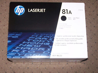 HP 81A (CF281A) OEM Black Toner Cartridge