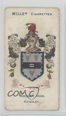 1905 Wills Borough Arms 3rd Series Tobacco Red Album Clause Keighley #139 1g9