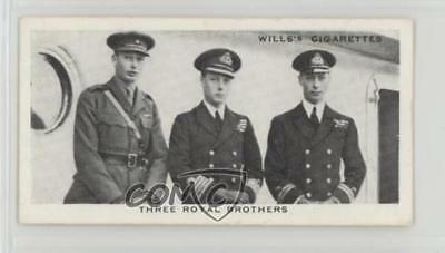 1937 Wills Our King and Queen Tobacco Three Royal Brothers 1920 #9 2u1