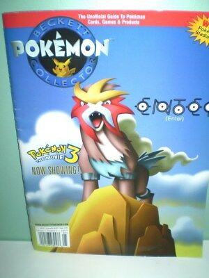 RARE Pokemon Beckett Collector May 2001 magazine Pre-owned