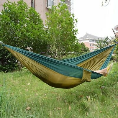 Outdoor One Person Lightweight  Handy Portable Durable Hammock With Strong Rope