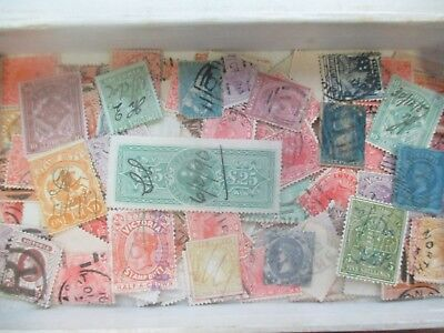 ESTATE: Victoria accumulation in box unchecked unsorted as received  (5531)