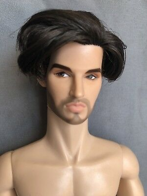 Color Infusion Declan On Fashion Royalty Homme Body **Gloss Convention Doll**