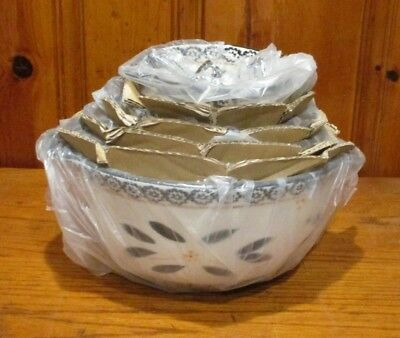 Temp Tations 5 Nested Mixing Bowl Set - Mint In Plastic