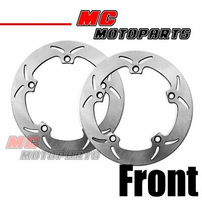 Solid Front Brake Disc Rotor 2pc Set For BMW R1200 GS K1200 RS R850 R1100 R1150
