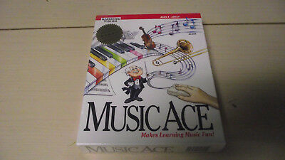 Music Ace (PC, 1994) Factory Sealed