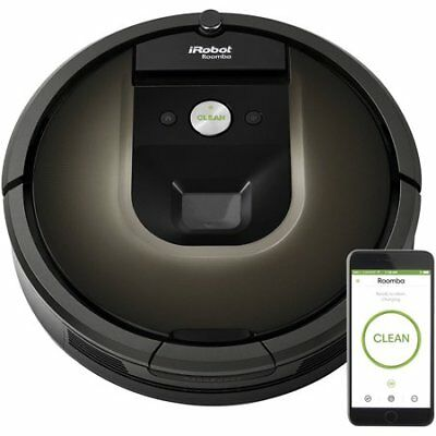 iRobot Roomba 980 Wi-Fi Connected Robot Vacuum w/Manufacturer's Warranty