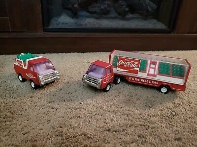 Vintage Buddly L Coca Cola Delivery Trucks Early 1980s