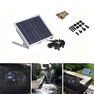 10W High Power LED Solar Light with Garden Landscape Fountain Water Pump Canada