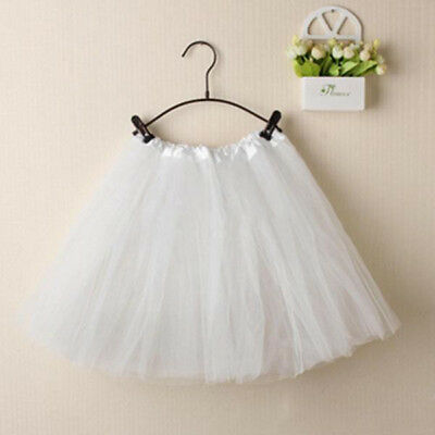 AU Adults Tulle Tutu Skirt Dressup Party Costume Ballet Womens Girls Dance Wear