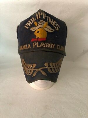 Vintage Philippines Manila Playboy Club Hat