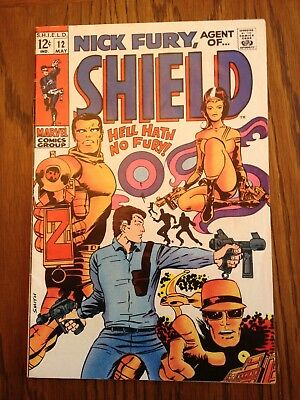 Nick Fury, Agent Of S.H.I.E.L.D. #12 (1969) - Early Barry Windsor-Smith!