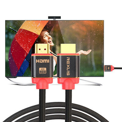 1-10M Premium Ultra HD HDMI Cable 2.0 High Speed Ethernet HDTV 2160p 4K 3D lot
