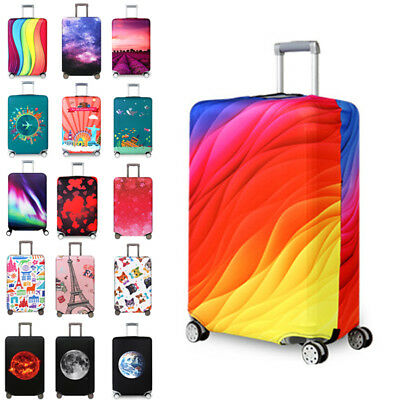 "18""-32"" Elastic Suitcase Cover Luggage Protector Spandex Dust-proof Anti scratch"