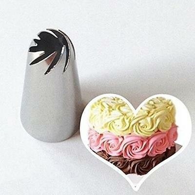 Drop Flower Icing Piping Tip Nozzles Cakes Cupcake Decor Pastry Tube Baking Tool