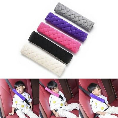 Winter Car Seat Belt Pads Harness Safety Shoulder Strap BackPack Cushion Covers