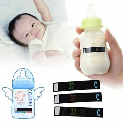 Recycle Baby Milk Bottle Temperature Sticker Test Strip Digital Thermometer Pro