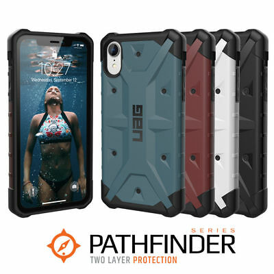 """UAG Pathfinder Apple iPhone XR 6.1"""" Rugged Case Military Spec Case Rugged Cover"""