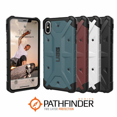 """UAG Pathfinder iPhone Xs Max 6.5"""" Rugged Case Cover Shell Shield Military Spec"""