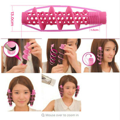 2Pcs Wave Curlers Curling Hair Styling Tools Curls Rollers Hair Accessories Sets