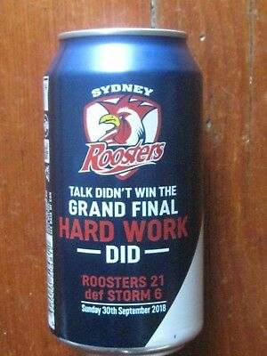 2018 Roosters Premiers Vb Can+ Bonuses  Easts Lc 60 Years Badge & 2 Stickers