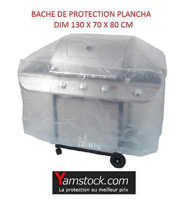 BACHE HOUSSE DE PROTECTION BARBECUE PLANCHA 130 X 70 X H 80 cm - RIBILAND