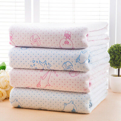 Cute Soft Waterproof Baby Urine Bed Mat Infant Diaper Nappy Changing Pad Cover