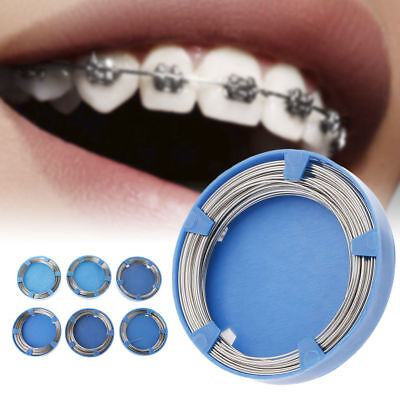 0.5-1.0mm Dentist Dental Stainless Steel Wire Orthodontic Surgical Supplies Pro