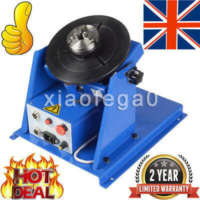 3 Jaw Lathe Chuck 2-20RPM Rotary Welding Welder Positioner 10KG Turntable Table