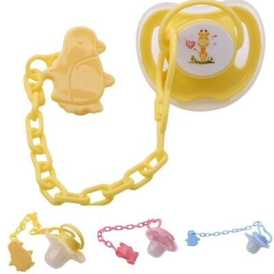 Silicone Newborn Baby Nipple Dummy Pacifier Teethers Toddler Orthodontic Tools