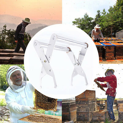 Bee Hive Frame Stainless Steel Holder Bee Sting Capture Grip Capture Grip Tool F